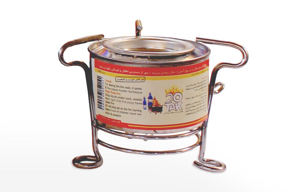 قوطی سوخت پاک ژله ای الکل ژلاتینی