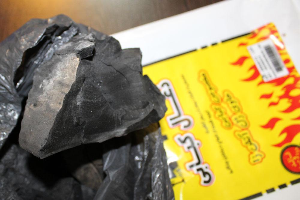 زغال کبابی فاقد دود و جرقه